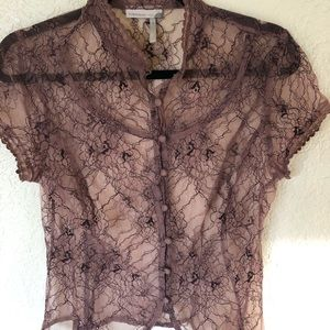 Beautiful lace blouse by Classiques Entiier